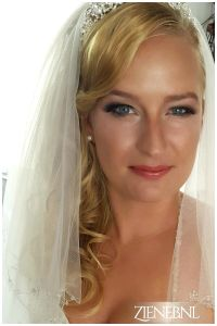 Bruidsmake-up, Bruidskapsel, bruidsstyliste, ziana, ziyana